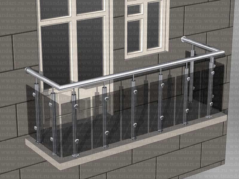 Техностандарт: балконные ограждения из нержавеющей стали (пр.